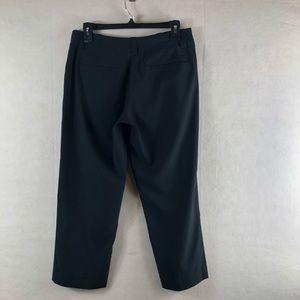 Nike golf Dress Pants black dri fit size 6 crop